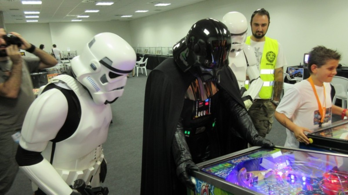 Will you be seduced by the pinball powers of the Dark Side of the Force?