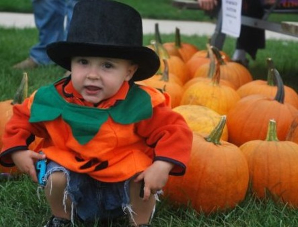 Photos of children, along with bright and interesting backgrounds, are great options for community events.