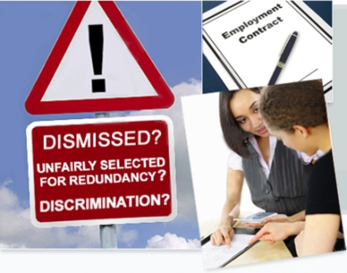 The most common disputes that the tribunal sees involve unfair dismissal, redundancy payments, and employment discrimination.
