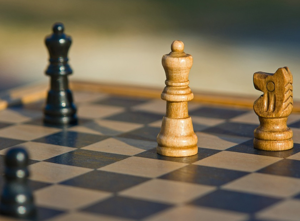 Metaphorically speaking, Stoicism could be liken to chess. You train yourself to know what to avoid, and what is unavoidable.