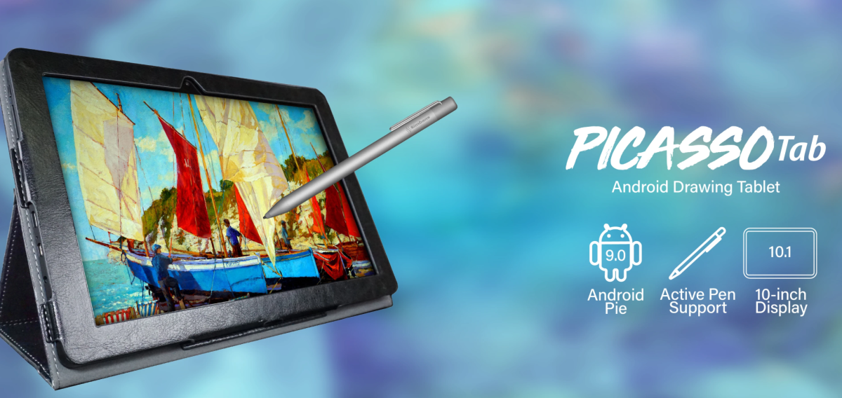 The Simbans PicassoTab is a budget drawing tablet that is perfect for kids and adults