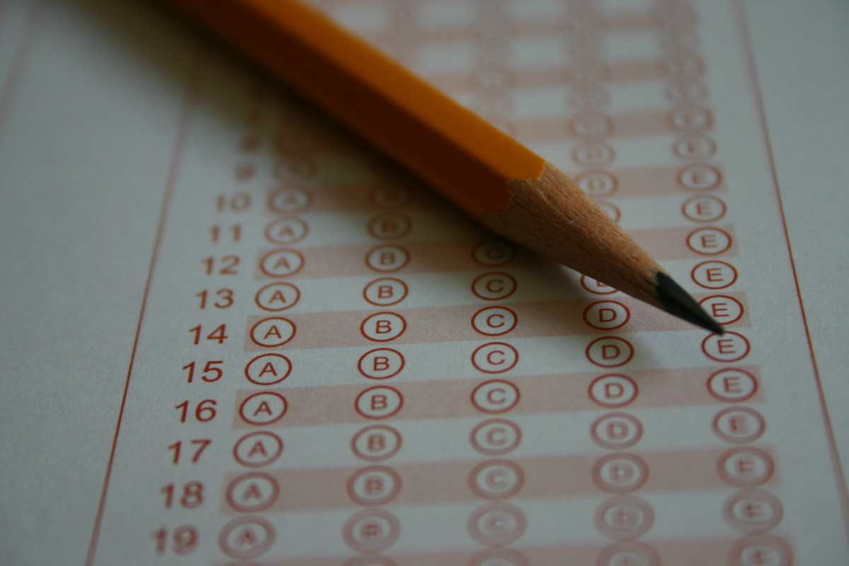 State licensing exams are taken at computer labs managed by Pearson Vue.