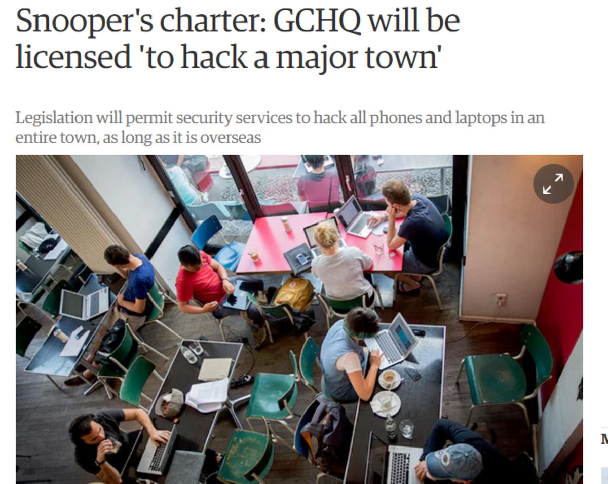 British Government Hacking Headquarters