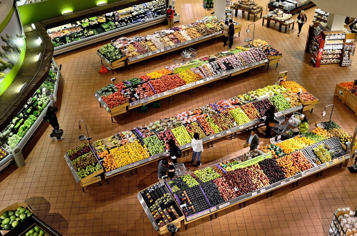 Supermarket Security Cameras