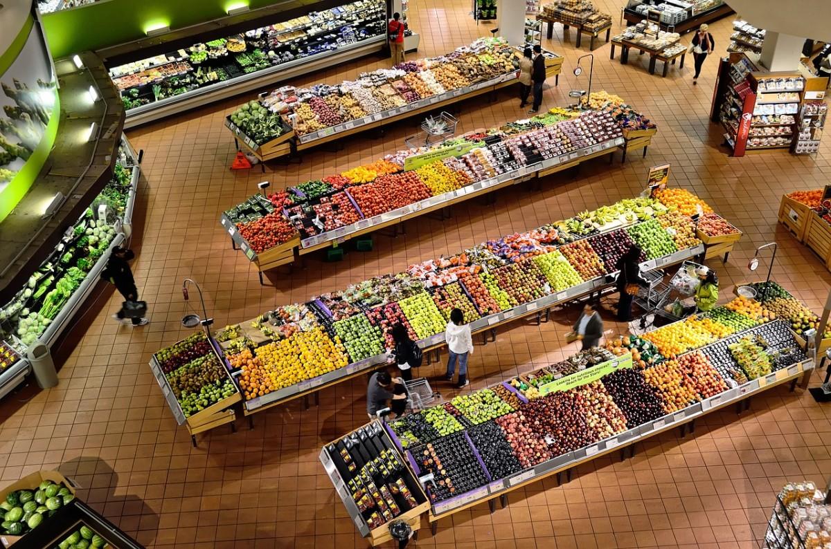 Supermarket Security Cameras