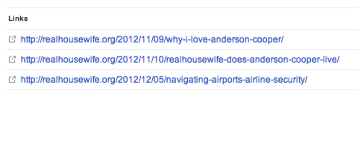 Aww, she blogged about our trip to Anderson Cooper. :)
