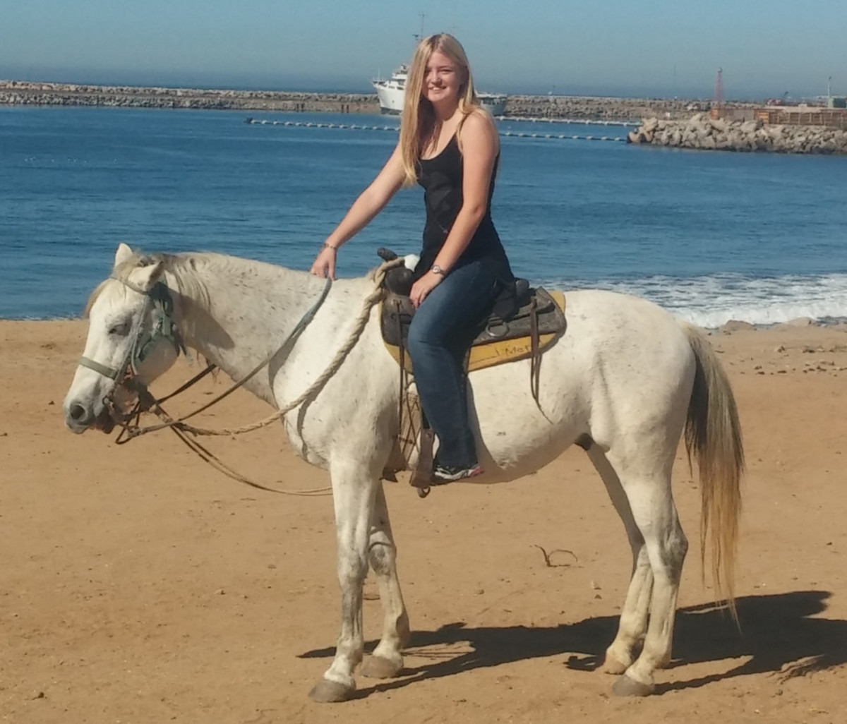 Do you have a horse? Ride it! Get on your horse and ride somewhere....anywhere.