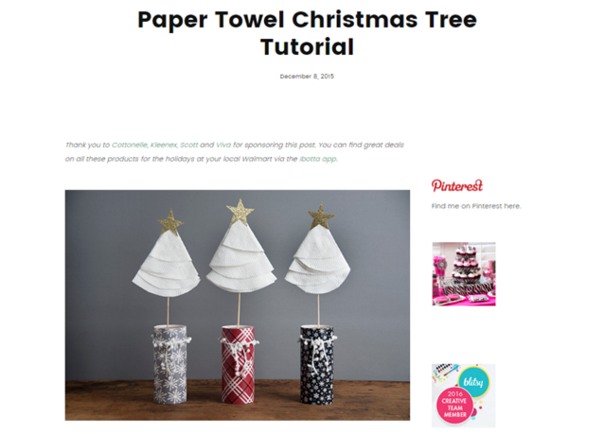 Natalme blog uses Kimberly-Clark products to come up with creative content