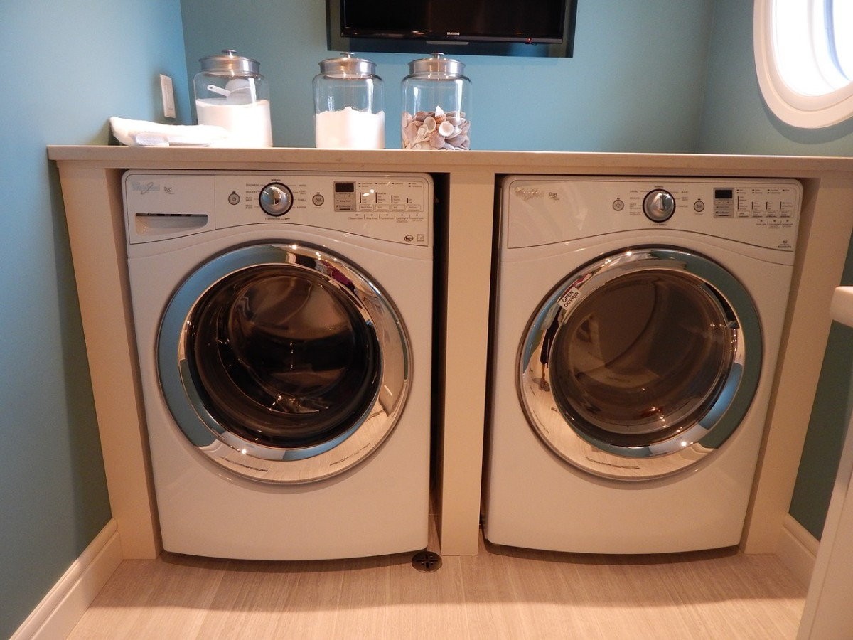 Washers and dryers can be electricity hogs.