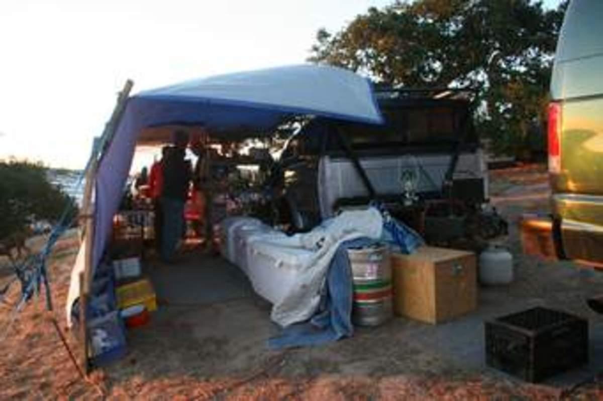 豌豆附近的常用帐篷