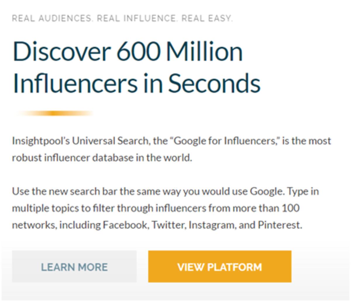 Discover Influencer