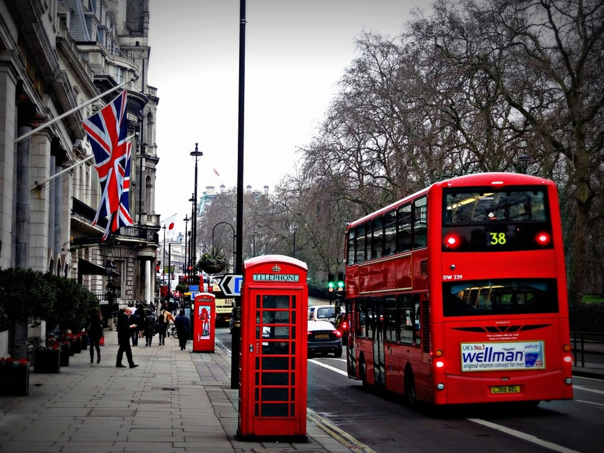 In London, public transportation is a breeze, except when there's a strike or some other complication.