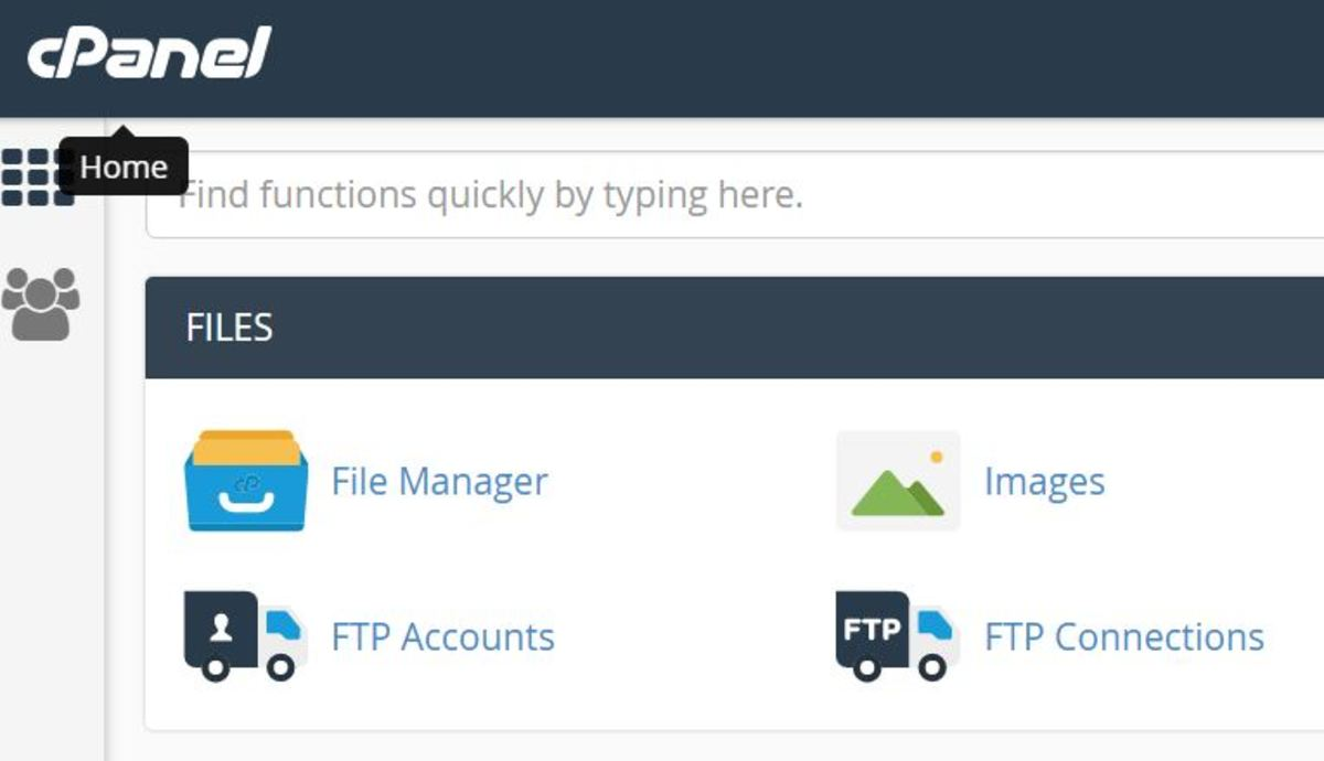 cPanel makes it easy to backup your site, transfer files, and perform various modifications.
