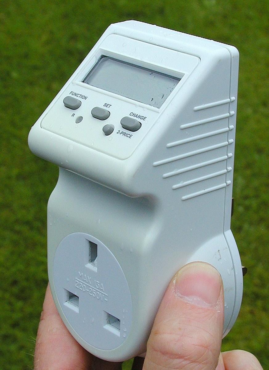Energy monitoring adapter.