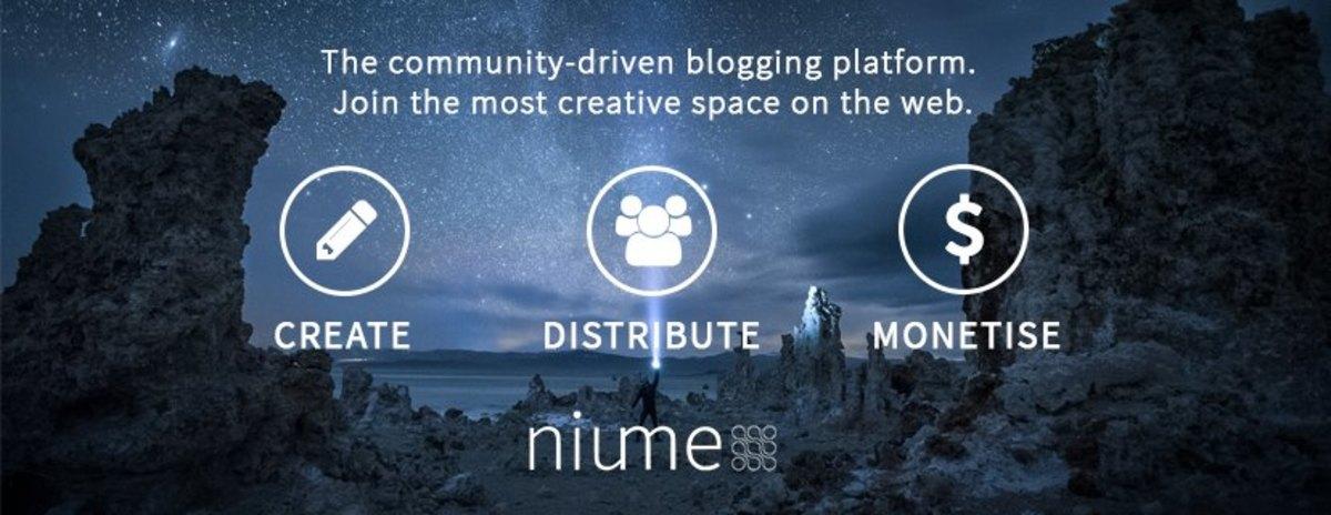 Niume is a community-driven blogging platform.