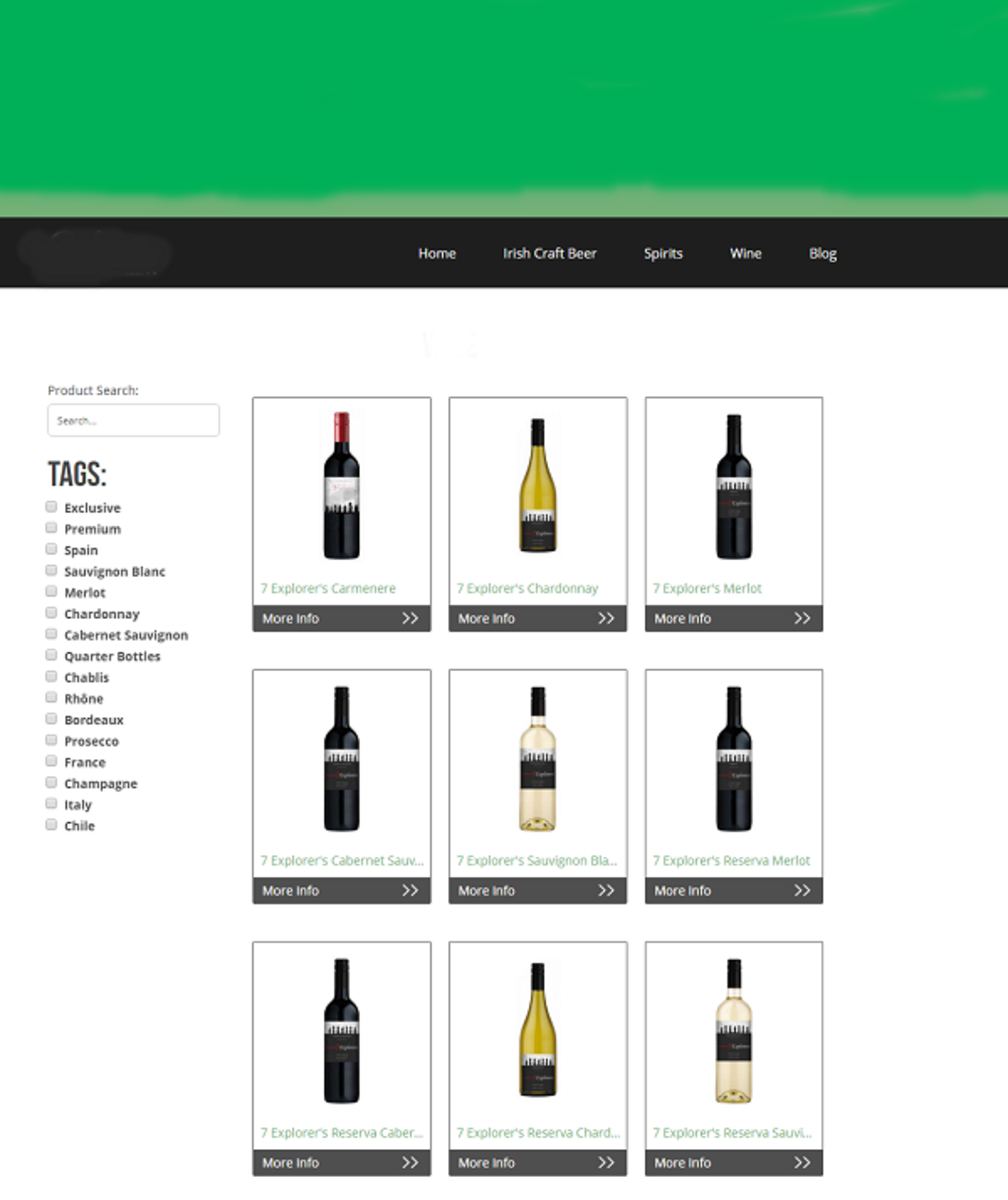 Products Displayed In A Block Style With The Help Of A Plugin