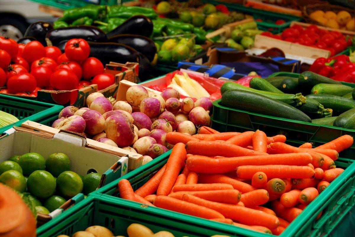 You can even order fresh vegetables through Instacart.