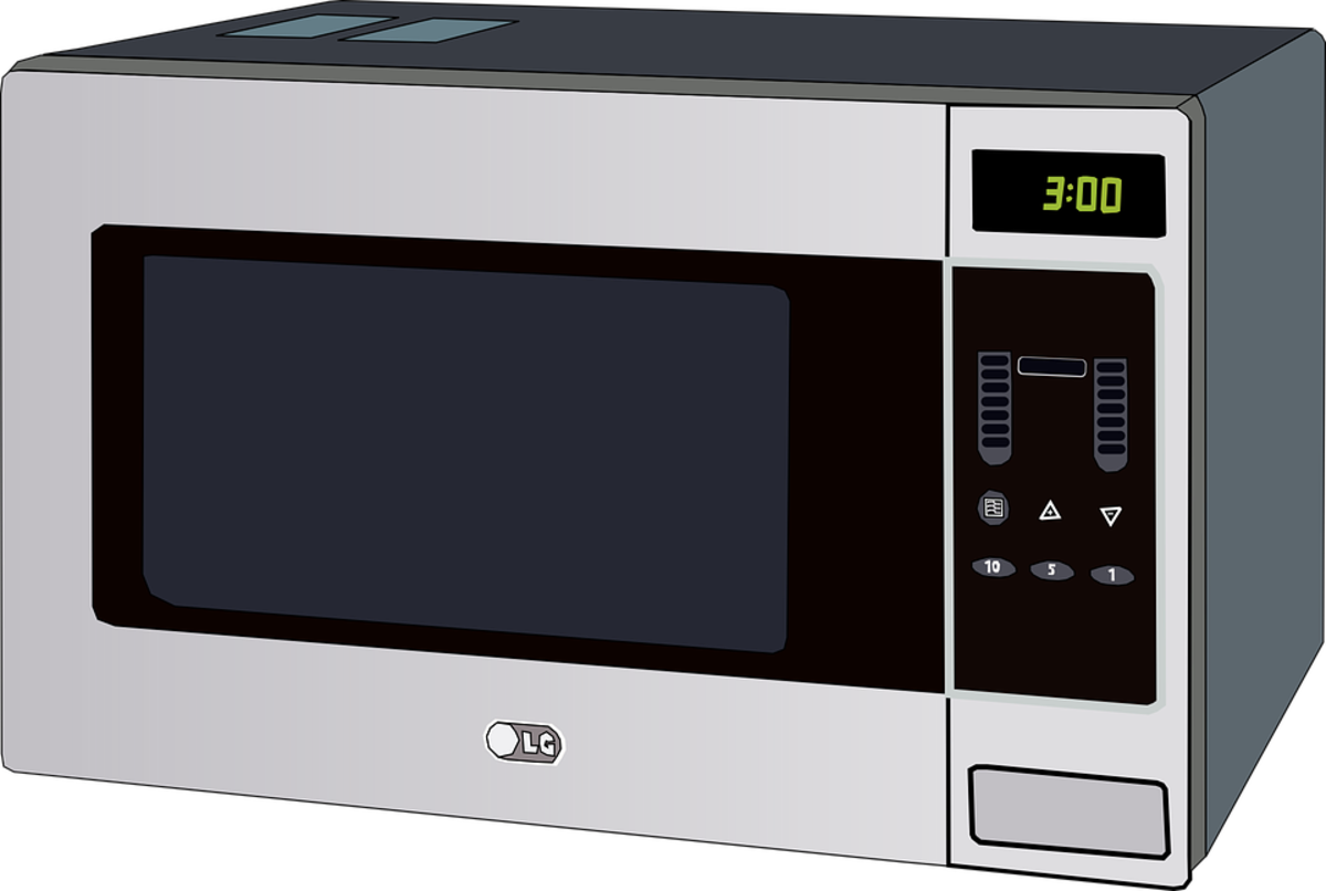 A microwave is a power hog.