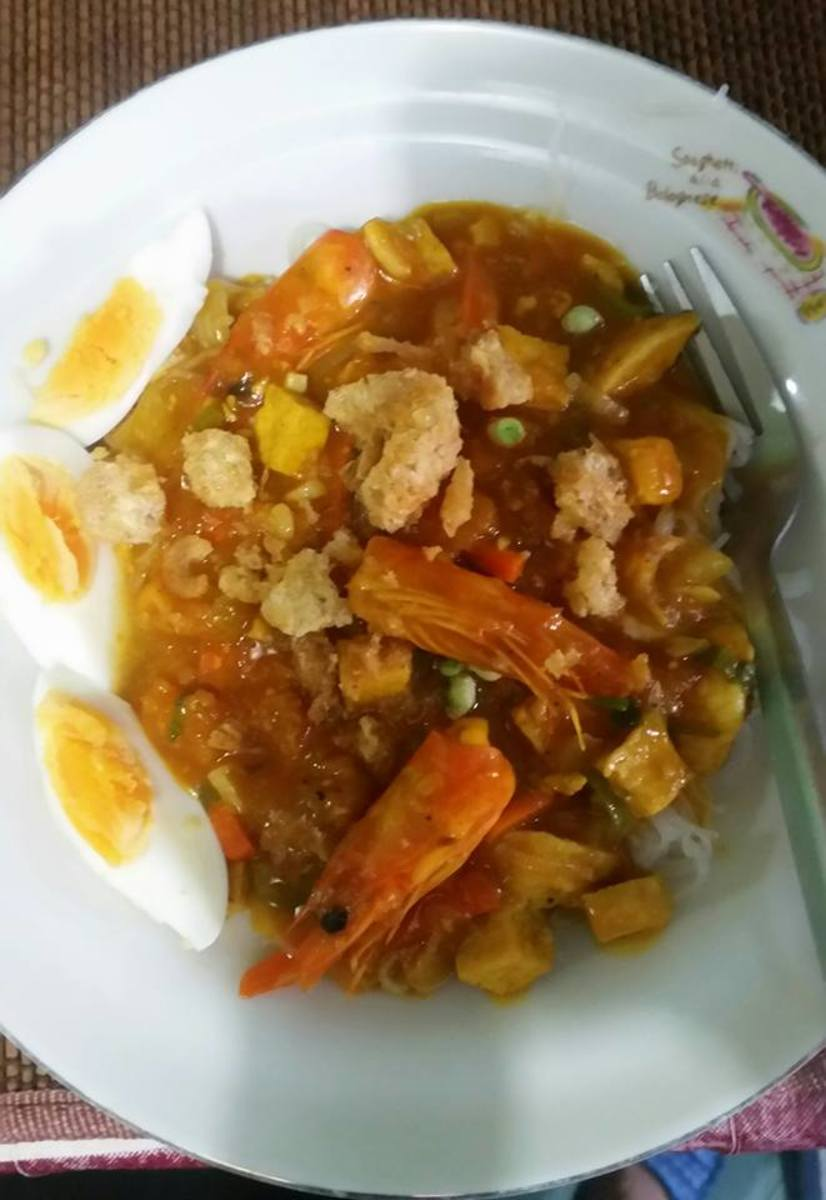 My home cooked palabok.