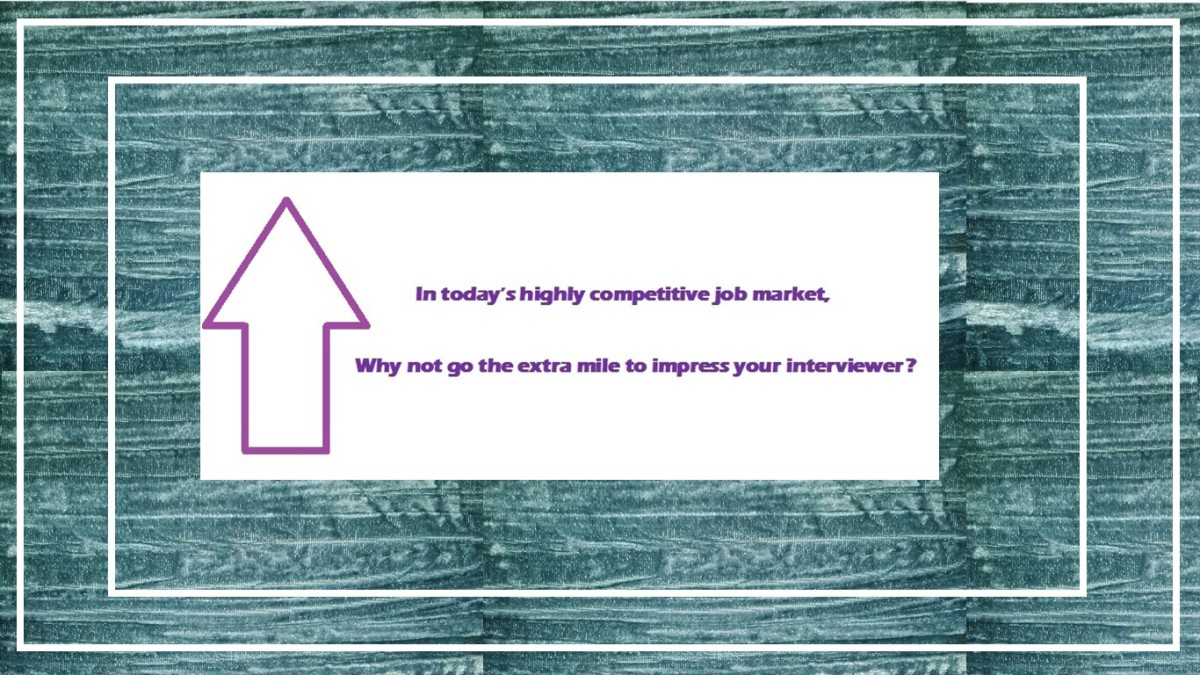 Using the end of interview preface question strategy could give you the edge over your competitors.