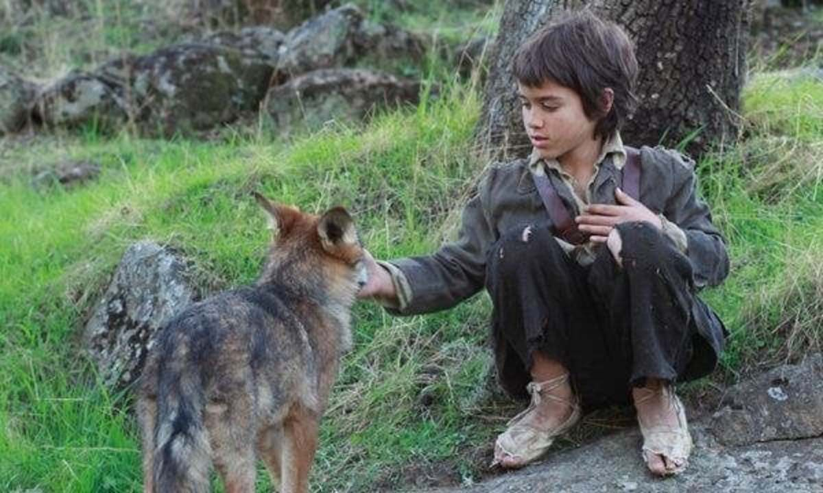 Scene from movie Among Wolves