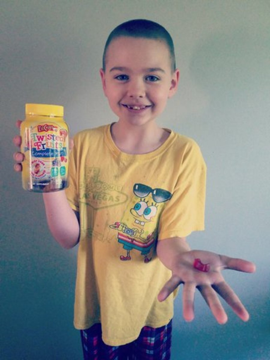 My son was excited that he had the opportunity to test Lil' Critters Gummy Vitamins. Smiley360 sent us this complimentary bottle.