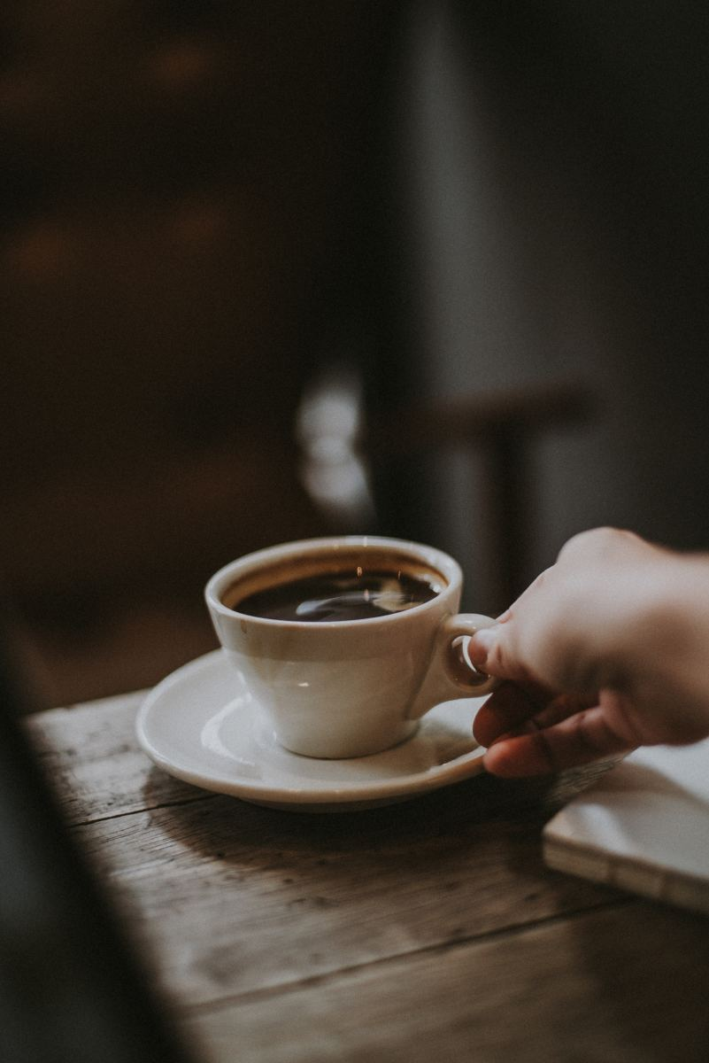 My coffee cup isn't as dainty and my surroundings much less hygge, but the second thing I do each day after pouring my morning jo is check my article stats.