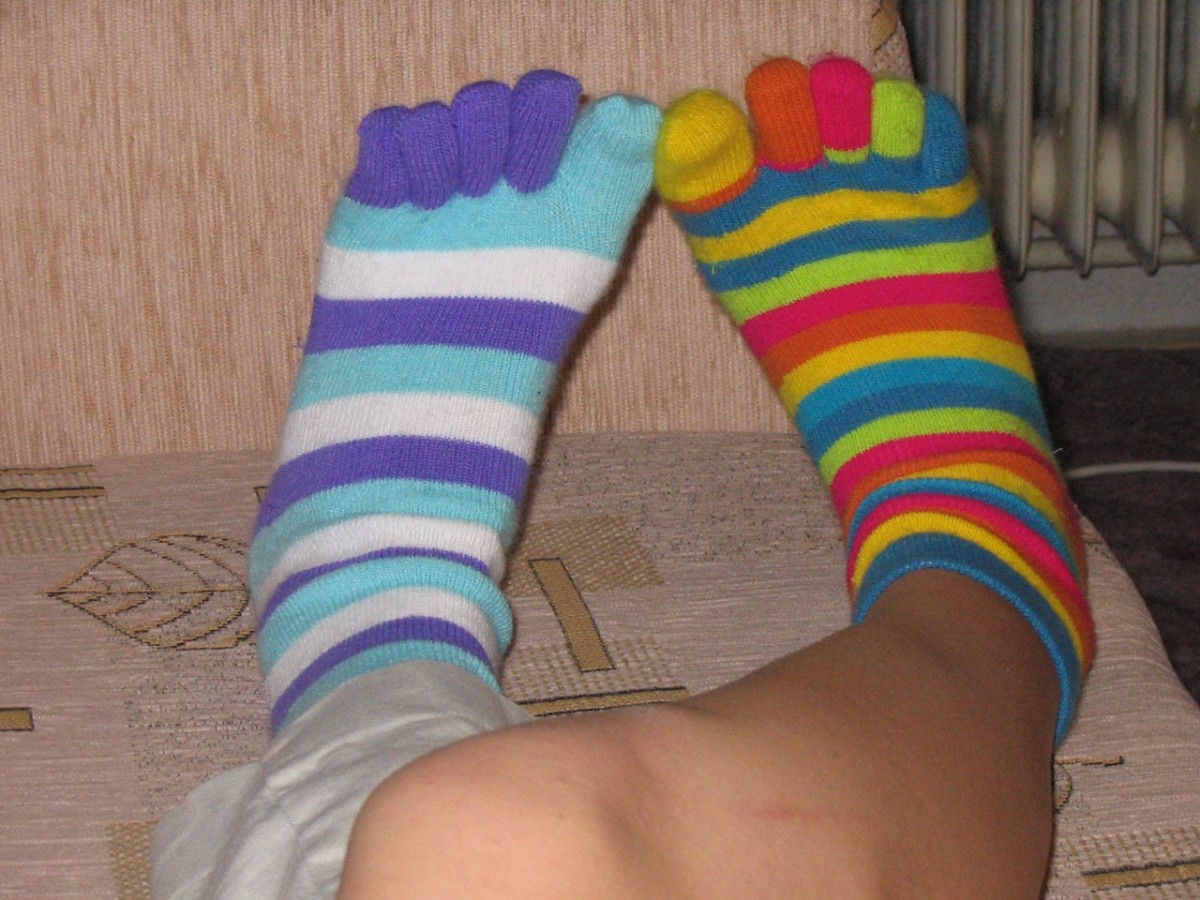 Wear them. Mismatched socks are the new pairs. My nephew started this. So now when I look at the mismatched socks, I think . . .  just wear the darn things.