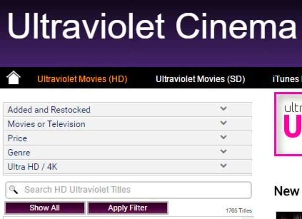 Ultraviolet Cinema is another option for low-cost digital movies.