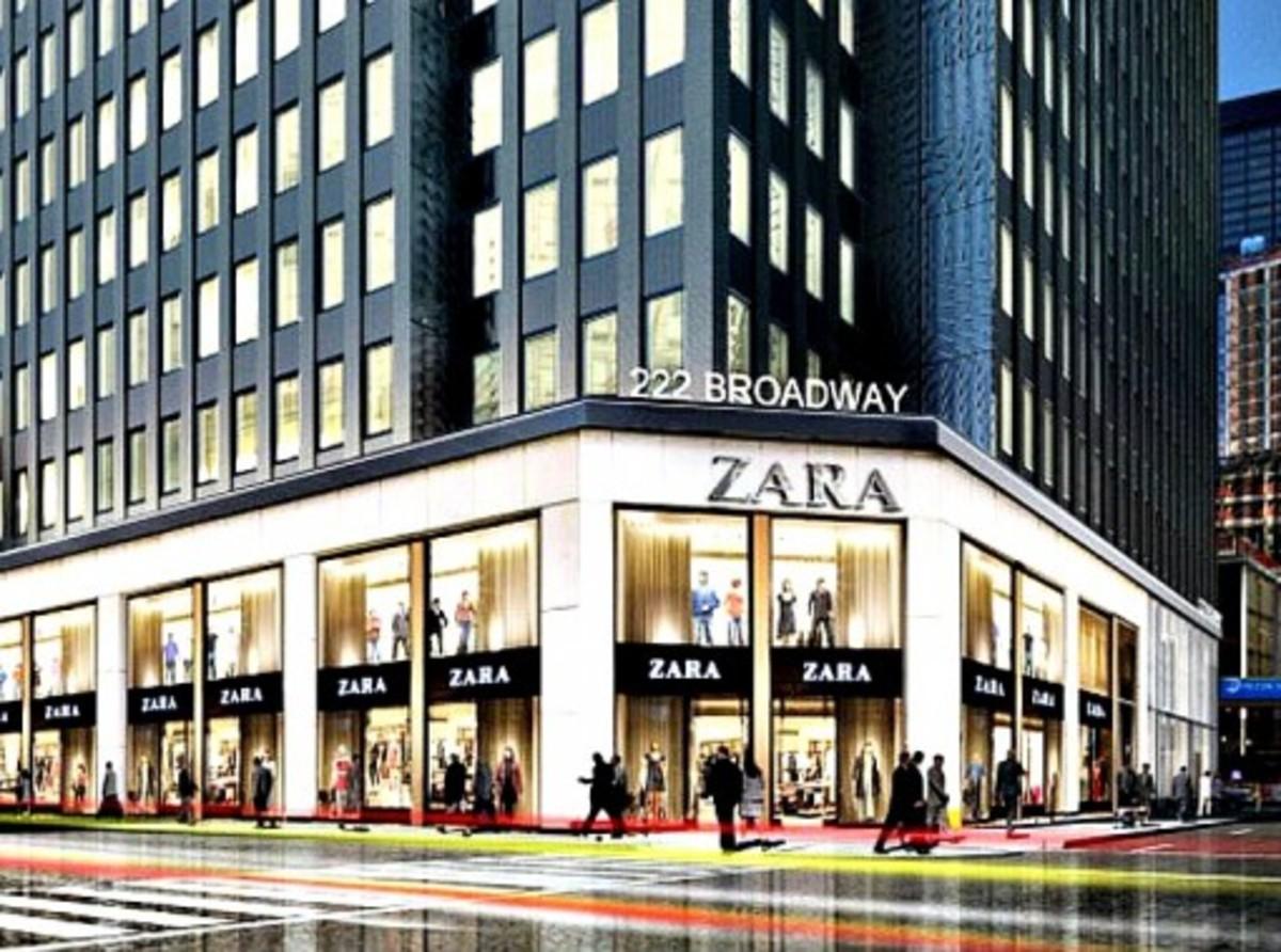 Zara store on Broadway, NY
