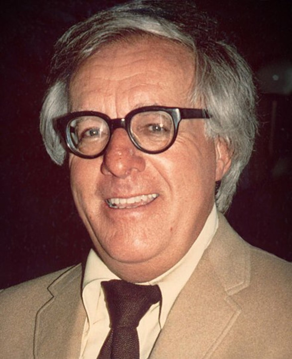 """I don't need an alarm clock. Myy ideas wake me."" Ray Bradbury  I have that in common with Ray."