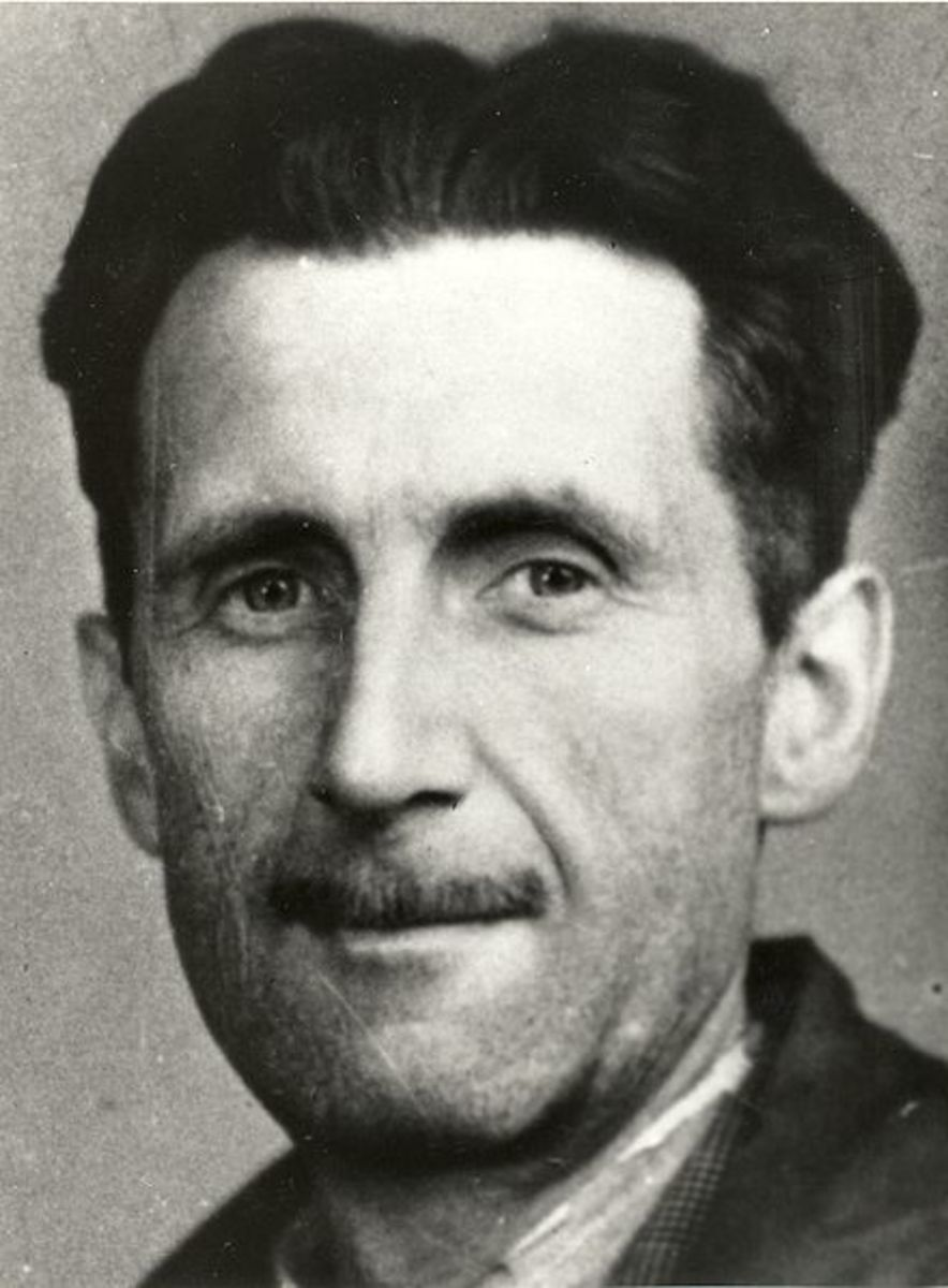 """When I sit down to write a book, I do not say to myself, I am going to produce a work of art. I write it because there is some lie that I want to expose... and my initial concern is to get a hearing."" George Orwell"