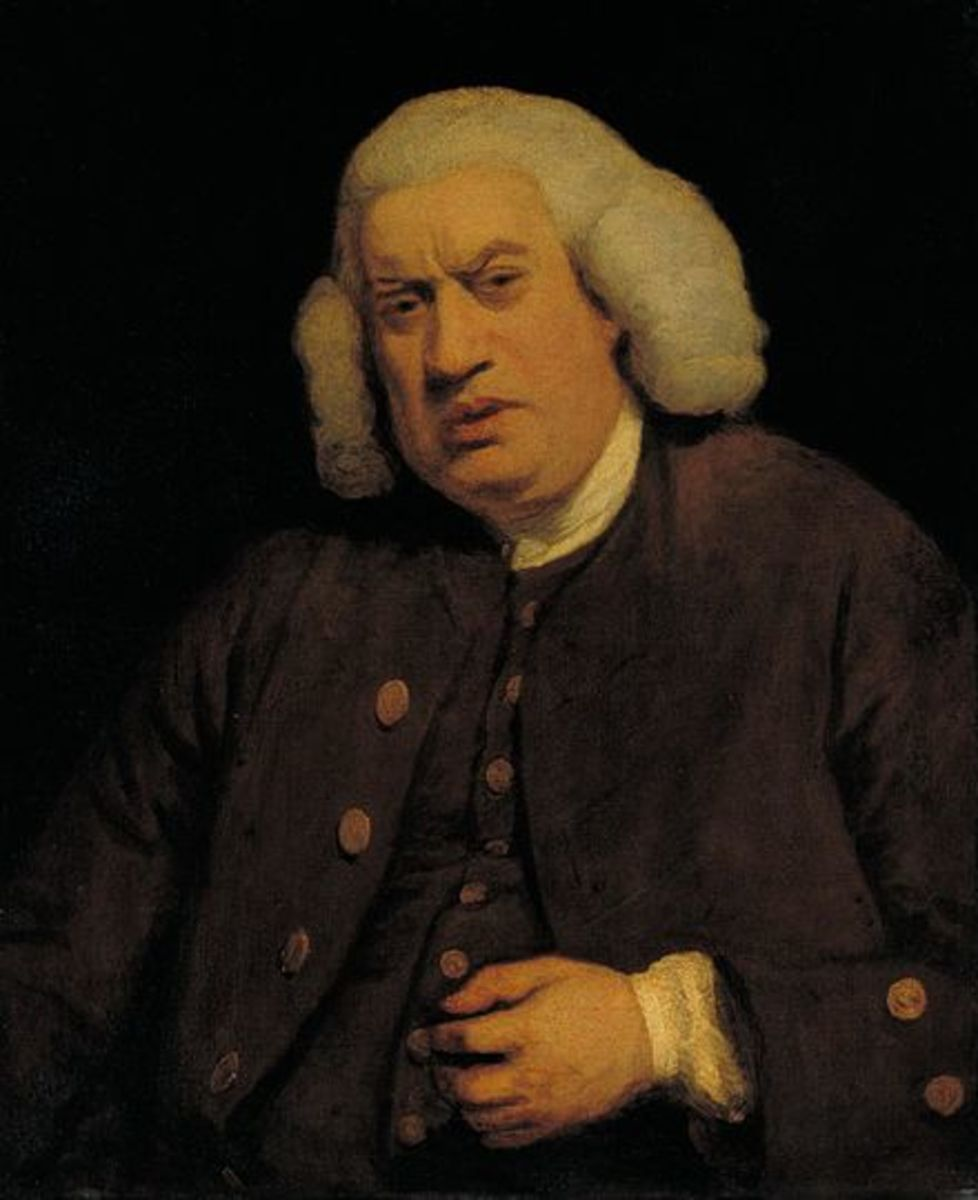 """The greatest part of a writer's time is spent in reading, in order to write, a man will turn over half a library to make one book."" Samuel Johnson"