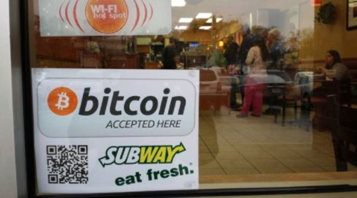 It seems Subway now accepts bitcoin!