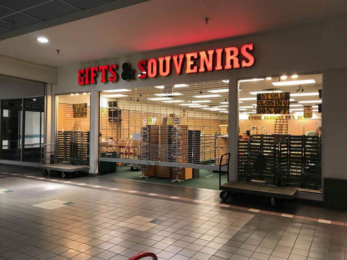 Souvenir shop closes after over 20 years.