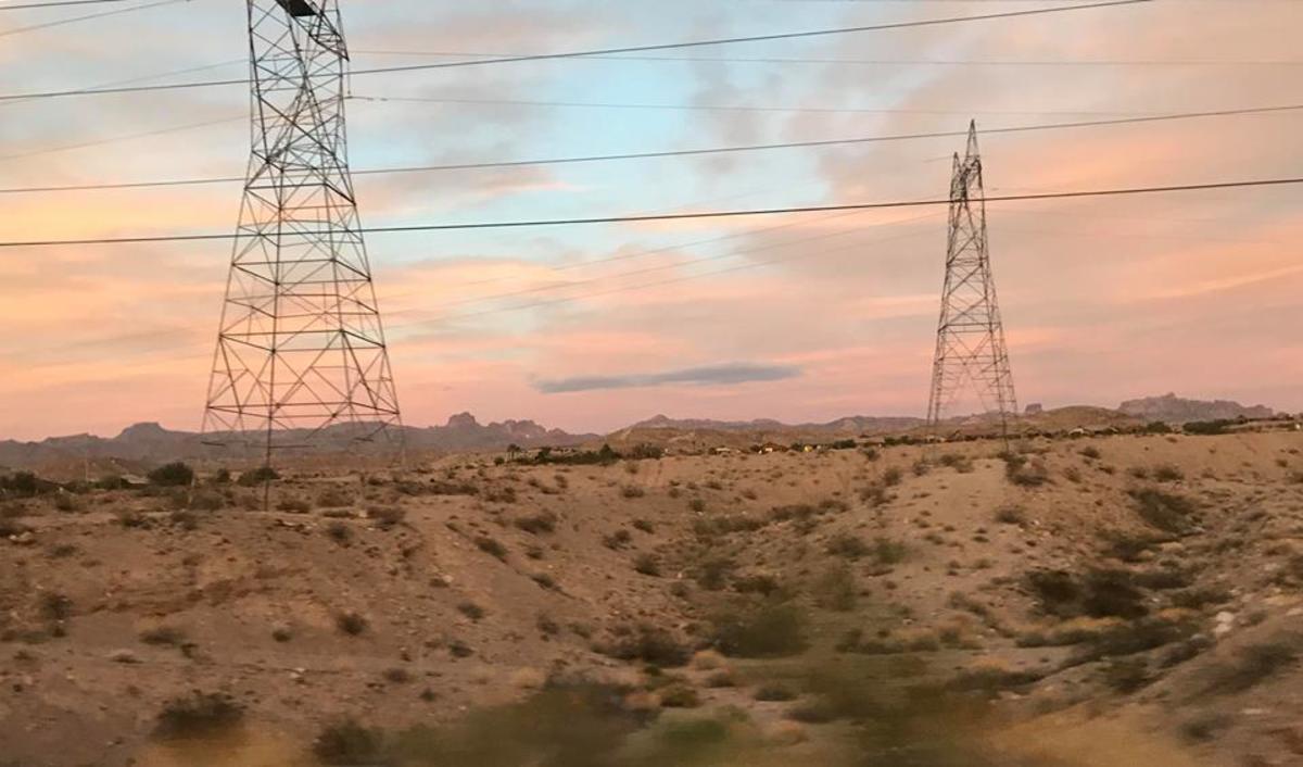Beauty of the Desert, Taken from Bullhead's Parkway.