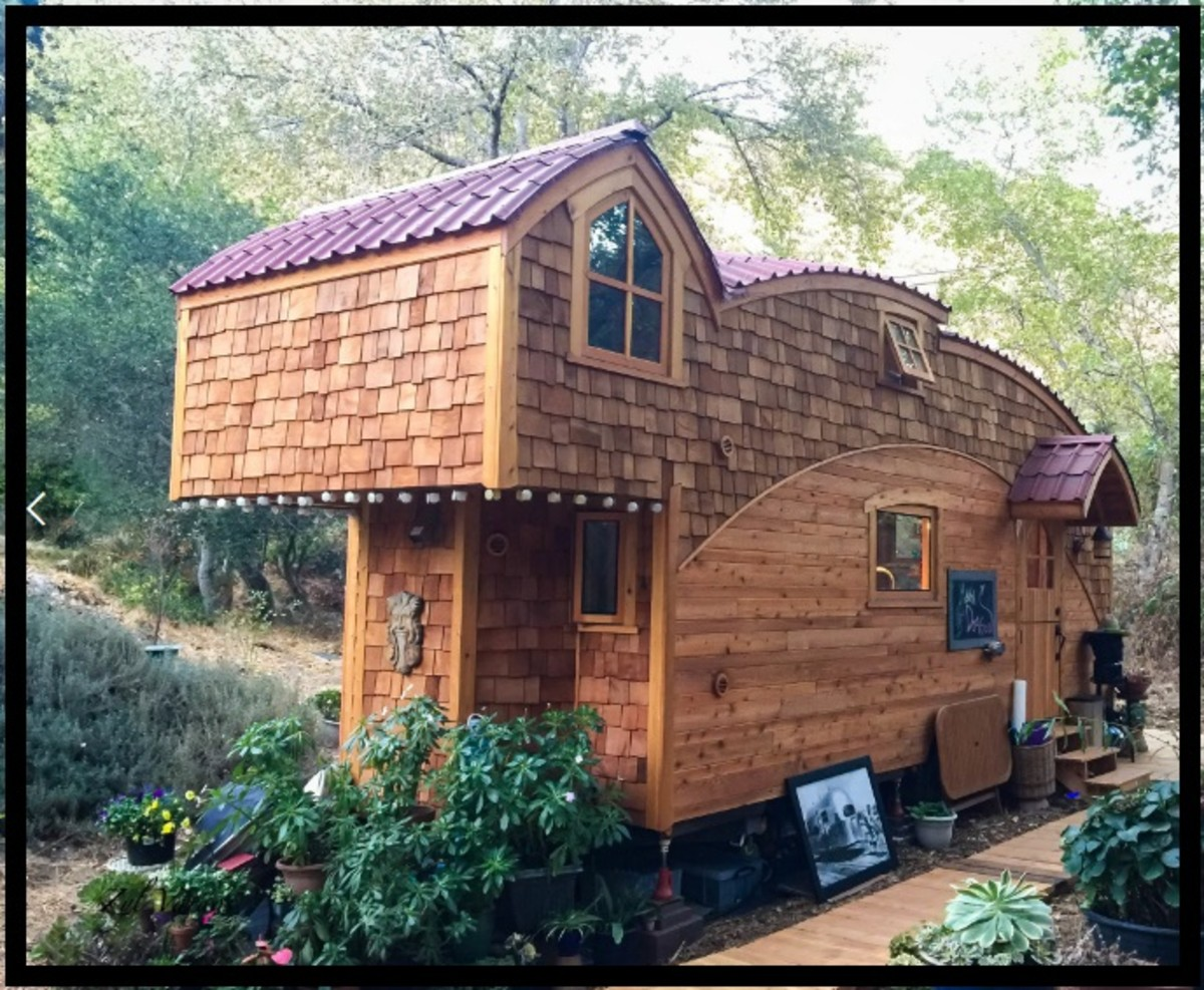 Tiny houses come in all shapes and sizes!