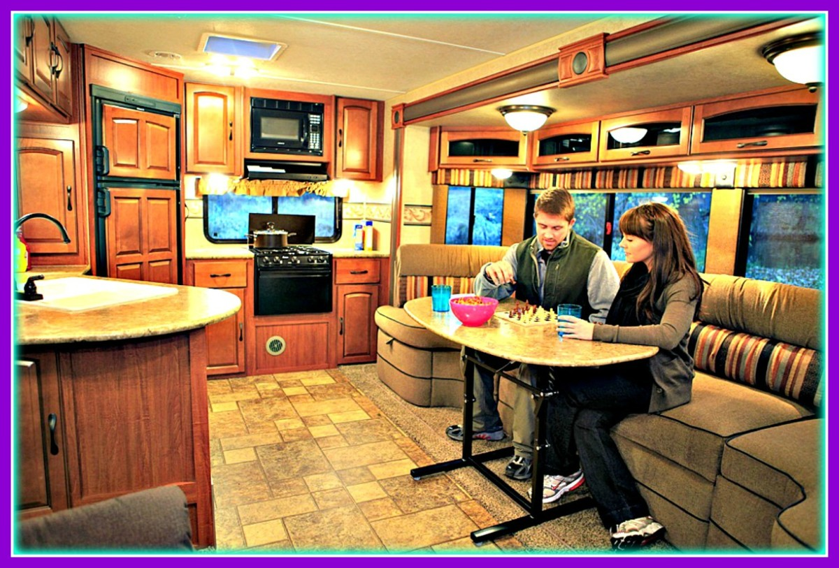 Recreational Vehicles have become very popular housing alternatives.