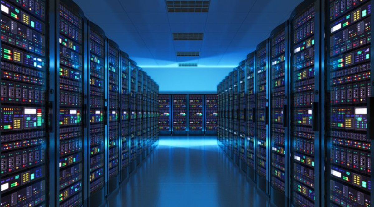 The computing power required to solve ever more complicated Bitcoin hashes, has led to huge computing centers being set up to mine BItcoin.