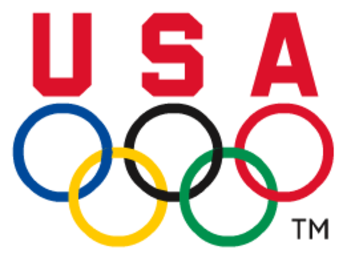 Logo for the United States Olympic Committee