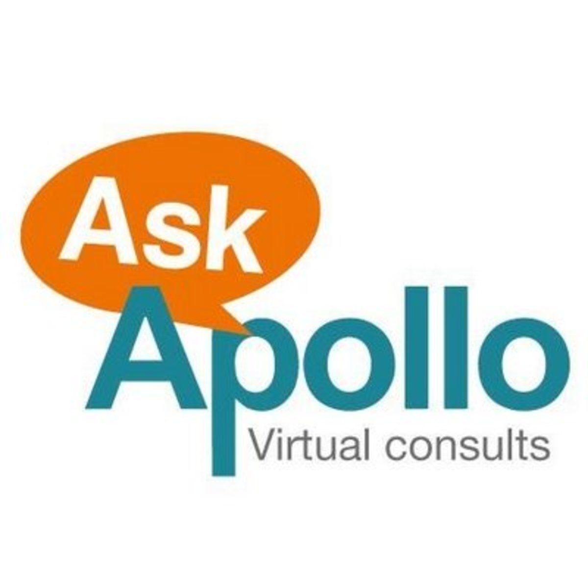 Ask Apollo virtual healthcare consultation service logo by Jayeshsan