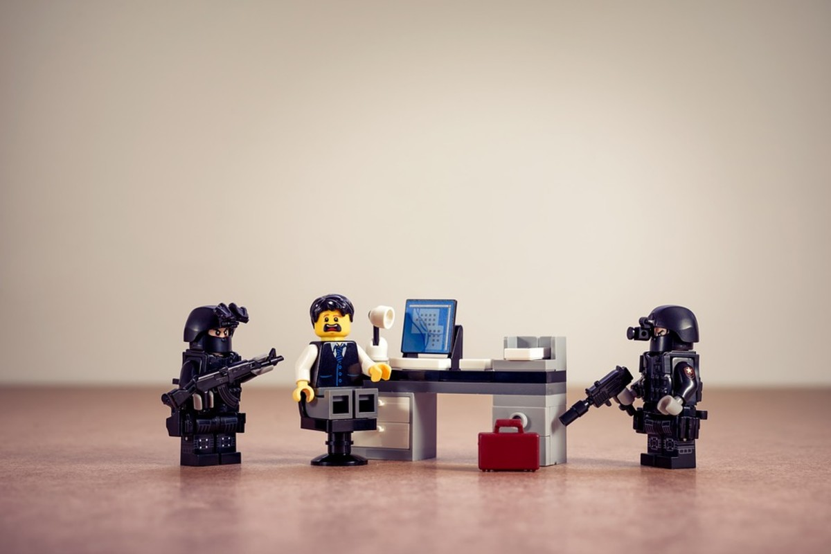Is your business world really full of gangsters? Learn to 'lego' of your client issues.