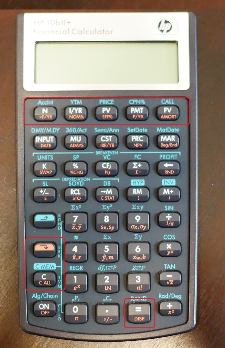how to answer amortization problems with an hp 10bii calculator