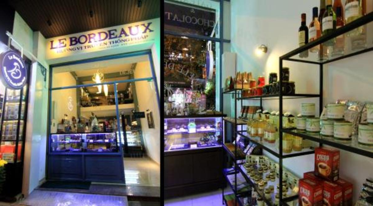 A foreign-owned bakery and coffee shop in Danang, Vietnam