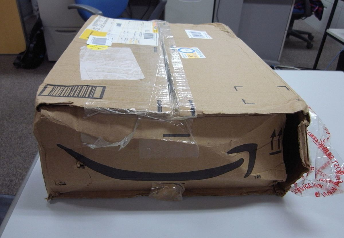 Package damaged in transit: Another person's return could be a bargain for you.
