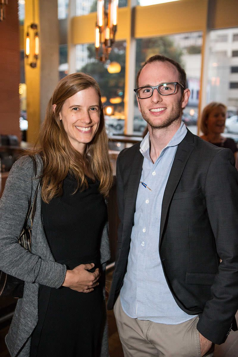 "Joe Gebbia (right), one of the three co-founders of Airbnb. To raise the start-up money necessary to launch Airbnb, Gebbia and the team createded cereal boxes, ""Obama O's"" and ""Cap'n McCains,"" based on the 2008 presidential candidates."