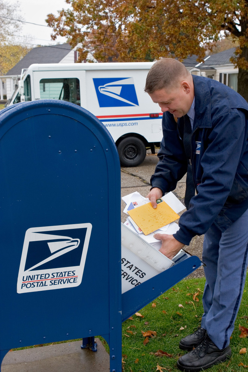 Letter carriers can be admonished for emptying a mail box even a minute ahead of schedule.