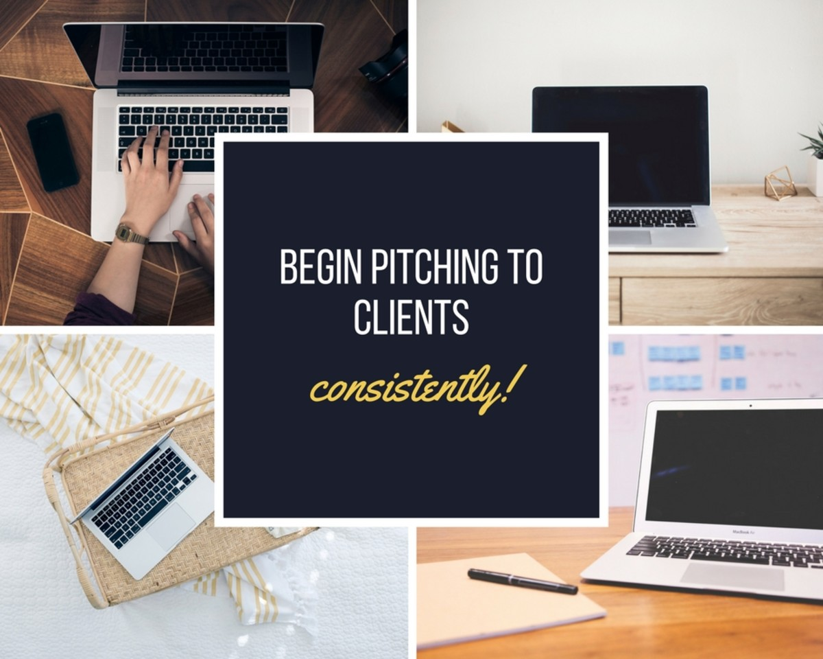 Pitching consistently is the best way to secure ongoing work, and you may negotiate better rates.