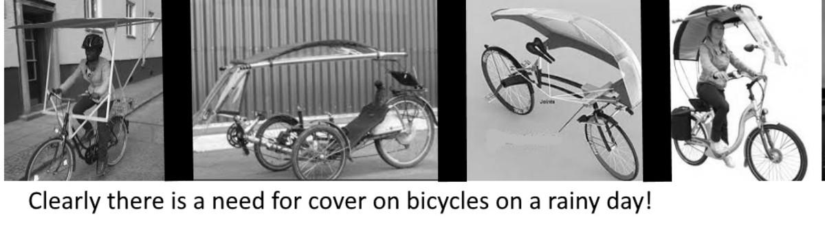 如果提供自行车道和某种形式的防风雨屋顶,消费者将更有可能投资骑自行车上班!