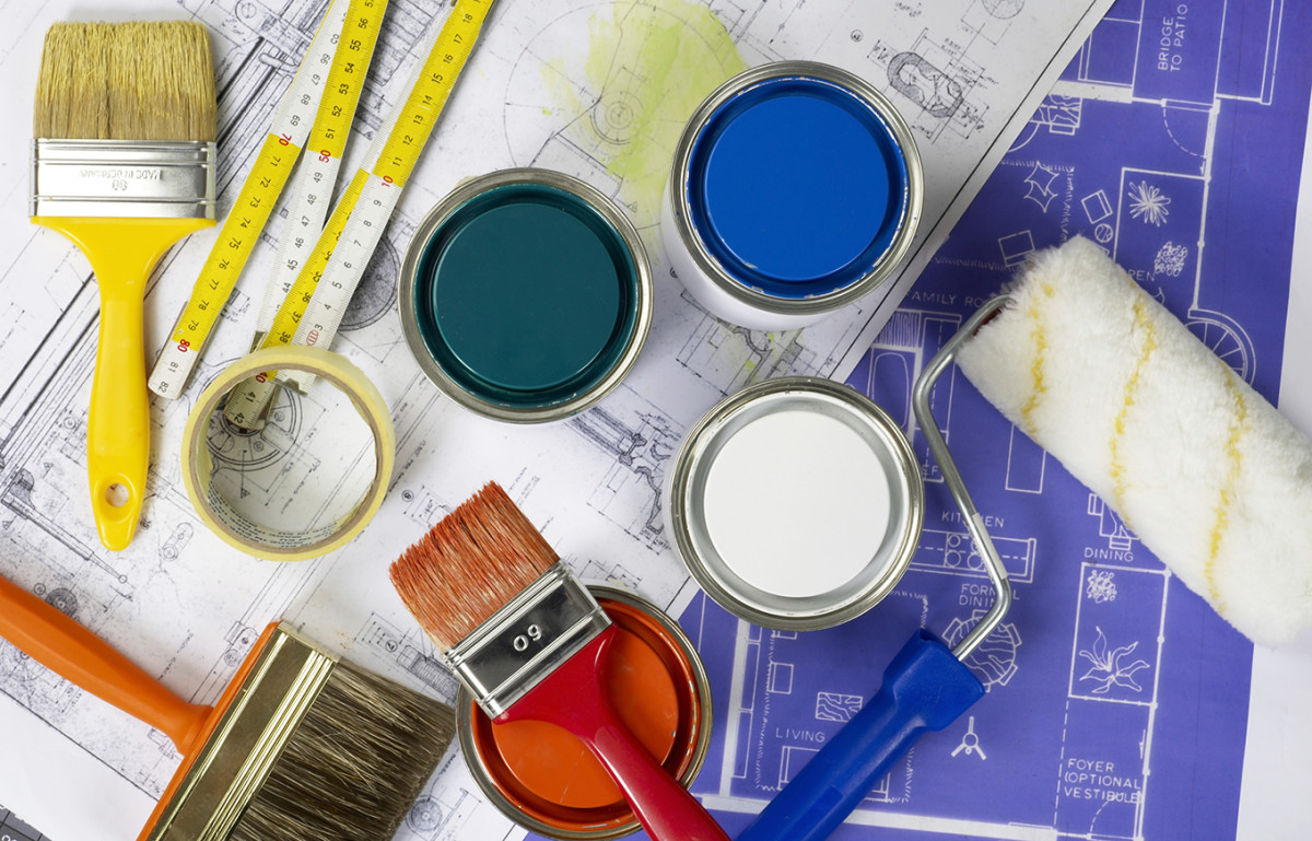 One of the best ways to spend your home improvement dollars is repainting interior areas.